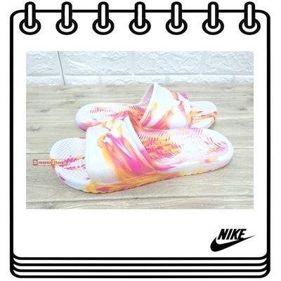 【Drawer】現貨 NIKE KAWA SHOWER SLIDE 防水拖鞋 舞粉橘 無海棉 NIKE拖鞋 拖鞋 防水
