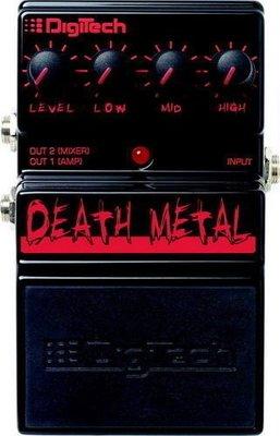 ☆ 唐尼樂器︵☆原廠公司貨保固 Digitech Death Metal Distortion 破音效果器
