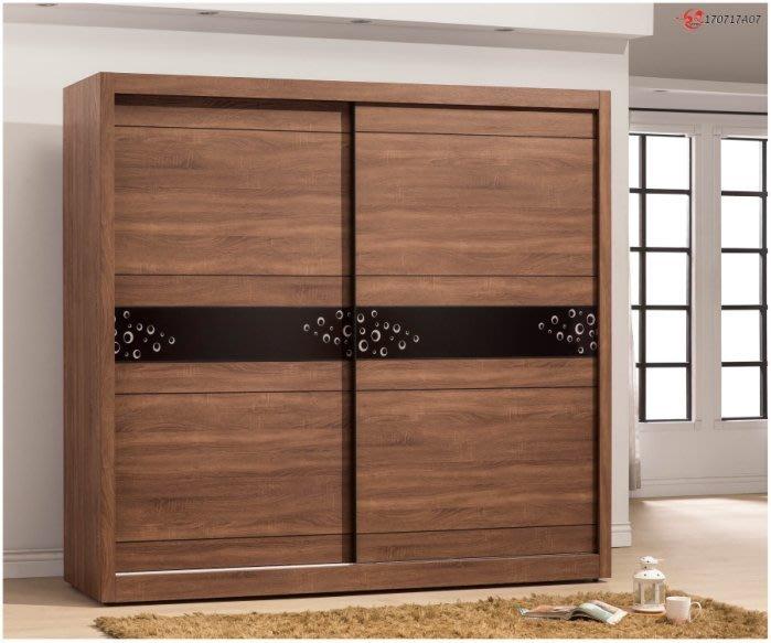 【DH】貨號BC014-1名稱《得納麥》7.2尺木心板推門衣櫃(圖一) 備有五呎可選.台灣製可訂做 主要地區免運費