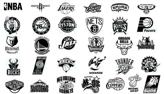 【貼貼屋】出清!NBA 籃球 30支隊徽 湖人 勇士 馬刺 快艇 壁貼 客廳房間店面佈置 潮 熱銷 爆款!