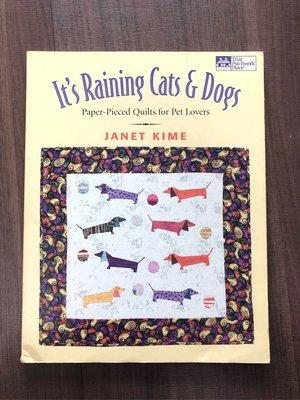 【二手書】寵物拼布書/It's Raining Cats & Dogs