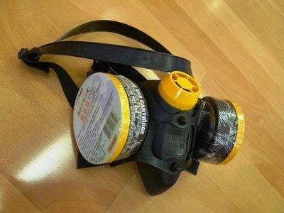 附發票*東北五金*工業用 專業OPO 歐堡牌 雙口型防毒面具,防毒口罩,台灣製造,品質保證! SD-503
