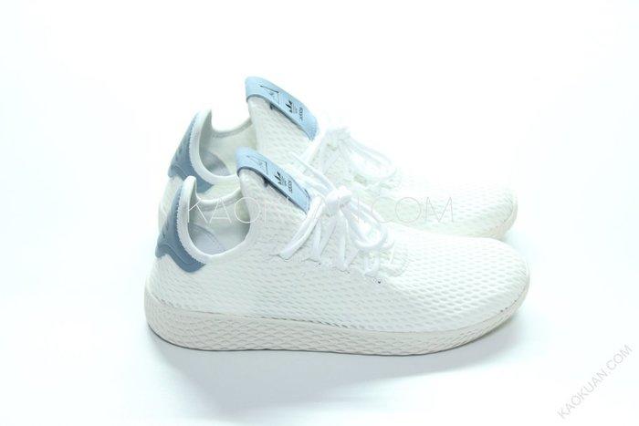 【高冠國際】Adidas Originals x Pharrell Williams HU 白藍 BY8718
