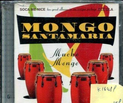 *真音樂* MONGO SANTAMARIA / MUCHO MONGO 全新 K16489-1