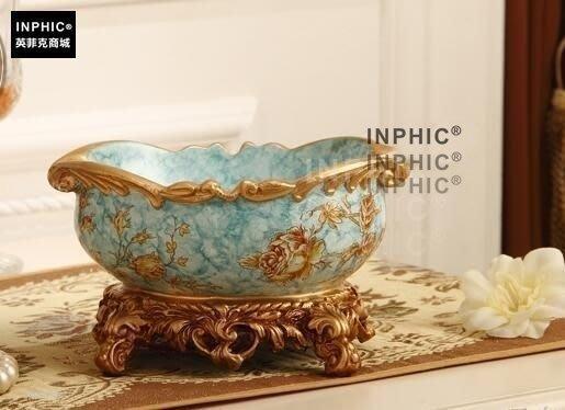 INPHIC-歐式復古煙灰缸時尚創意個性復古客廳臥室書房桌面裝飾品-C款_S01870C