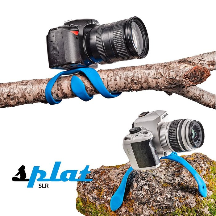 呈現攝影-Miggo Splat 章魚腳架大號 天空藍 任意彎曲 小/中相機 手機 運動攝影機 VR360
