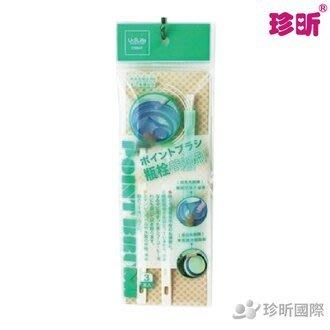 【珍昕】台灣製 瓶栓間隙刷~3入(菜瓜/絨布/尼龍毛)
