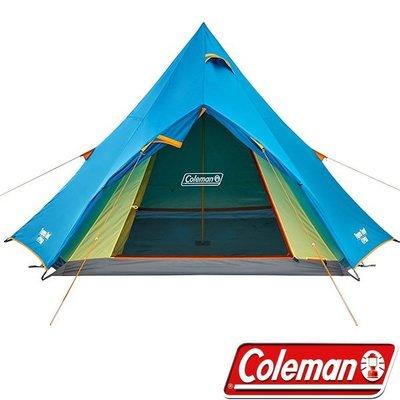 【山野賣客】Coleman Winds Light 4-5人印地安帳篷 CM-22044 帳蓬 帳棚