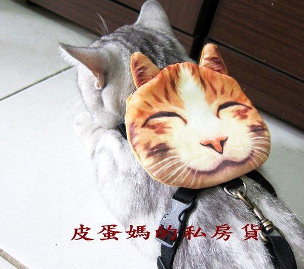 【貓頭包】書包☆狗自背包-寵物包-貓背包(美短/蘇摺/藍貓/虎斑)貓臉/喵星人-大眼貓送牽繩