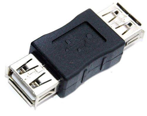 小白的生活工場*FJ USB2.0 A母對A母轉接頭 SR1005