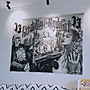 Cover Taiwan 官方直營 Chicano 嘻哈 西岸 老墨 刺青 家飾 傢飾 窗簾布 壁貼 背景布 (預購)