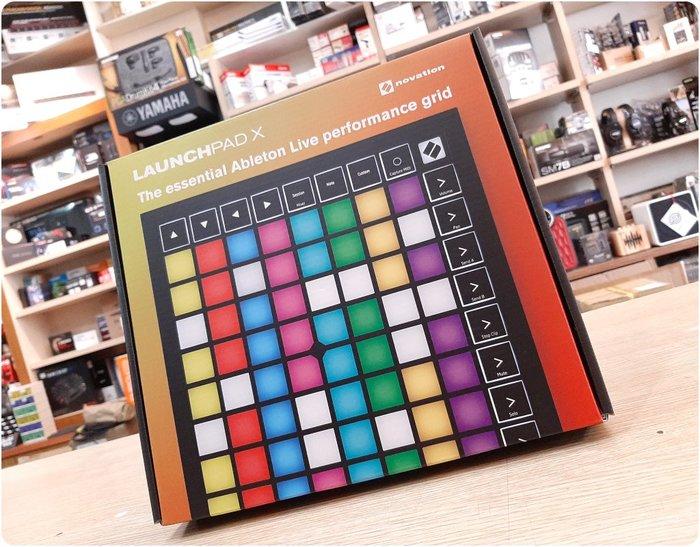♪♪學友樂器音響♪♪ Novation Launchpad X MK3 MIDI控制器 64鍵 力度感應 USB-C