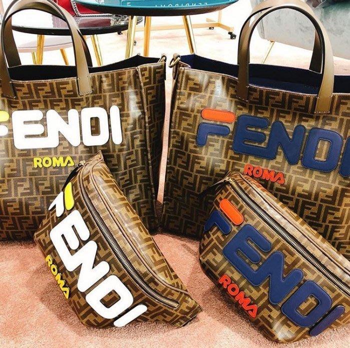 FENDI MANIA系列緣自於藝術家hey_reilly 創作的「FENDI/FILA」logo
