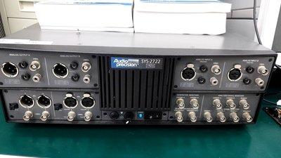 Audio Precision SYS-2722 System Two Cascade Audio Analyzer,