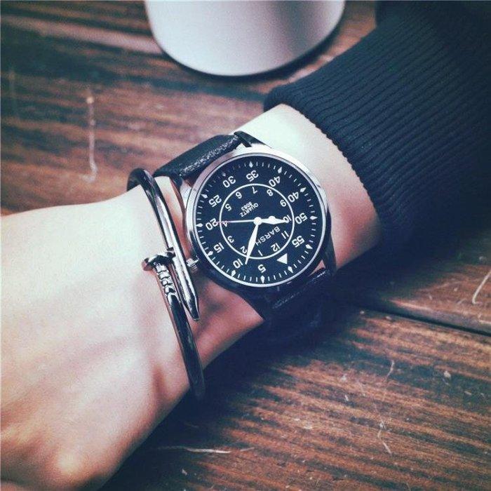 現貨時尚手錶李易峰權志龍GD同款布袋手錶男女中學生韓版個性復古時尚韓國潮錶