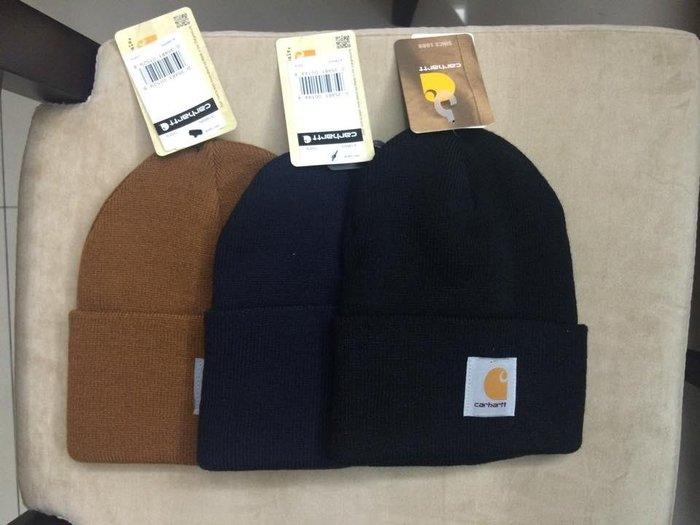 【Simple Shop】現貨 Carhartt 毛帽 深藍 黑 土黃 粉紅