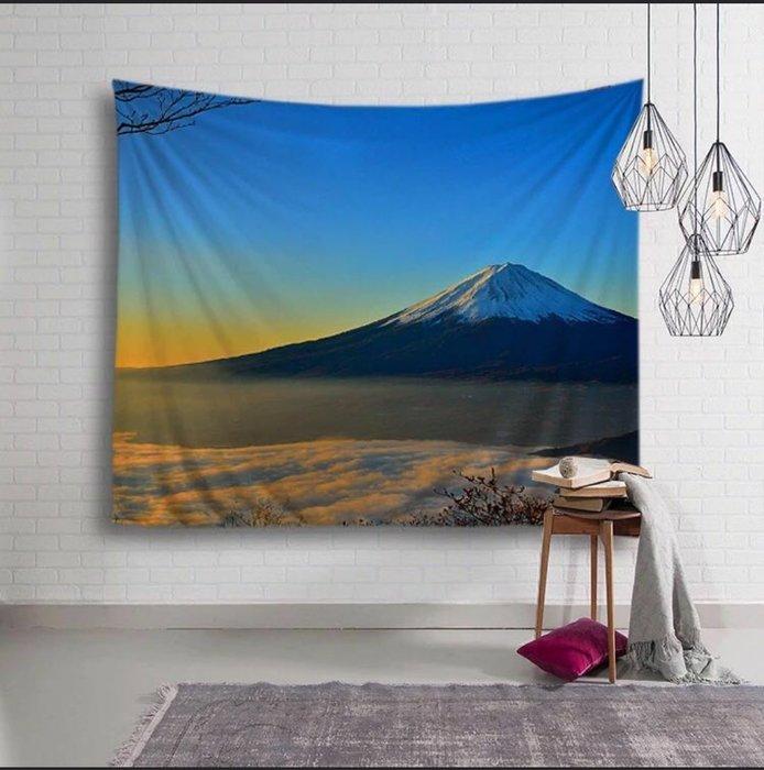 富士山掛布,背景布