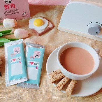 【魔法世界*效期至2020/01/08】新升級!!野角南非博士奶茶 選用紐西蘭奶粉,可控糖 【17gx8包/1盒】