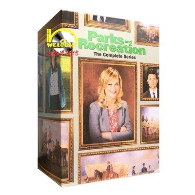【優品音像】 美劇原版DVD Parks and Recreation 公園與游憩1-7季 完整版DVD 精美盒裝