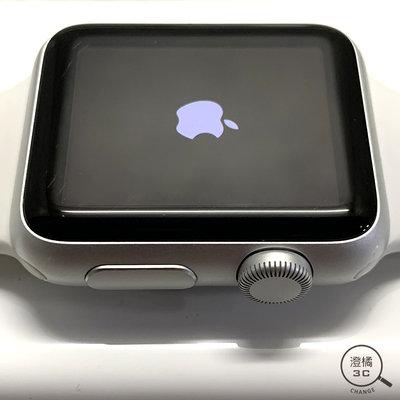 『澄橘』Apple Watch 一代 1代 38mm GPS 白鋁框 白運動錶帶 二手《歡迎折抵 3C租借》A50579