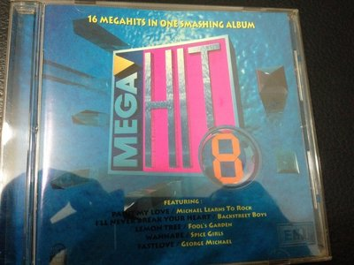 二手CD  MEGAHIT 8 16 MEGAHITS IN ONE SMASHING ALBUM~EMI1996