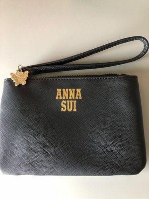 Anna Sui黑色手拿包