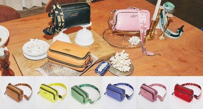 韓國代購-預購商品-搶手貨,正品 Stretch Angels 小方包 肩包/腰包/斜挎包/相機包