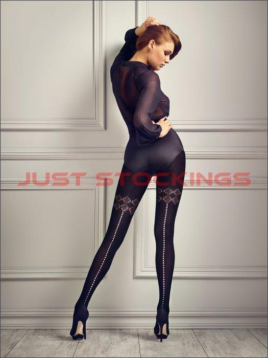 °☆就要襪☆°全新歐洲品牌 MARILYN GUCCI G10 性感縷空造型棉柔褲襪(120DEN)
