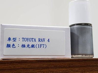 艾仕得(杜邦)Cromax 原廠配方點漆筆.補漆筆 TOYOTA RAV 4 顏色:極光銀(1F7)