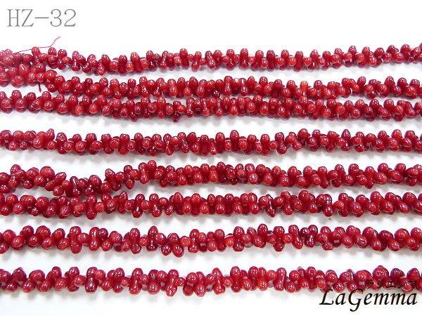 ☆寶峻晶石☆特價190元/條~DIY串珠 海竹珊瑚 紅色8字葫蘆珠 獨創飾品/手鍊/項鍊 HZ-32 長度約40cm