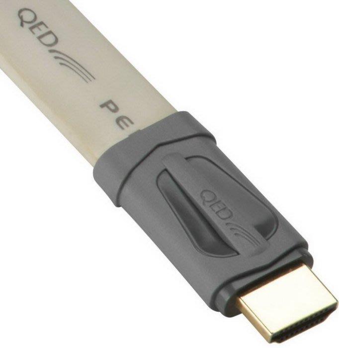 【林口豪韻專業音響】英國 QED Performance E-FLEX HDMI影音傳輸線 1M售價 庫存出清特惠