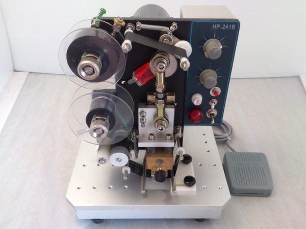 ㊣創傑CJ-1500電動印字機*附銅字字夾一盒*印製造日期*保存期限*連續封口機印字機真空機計量機液體充填機旋蓋機封盒機