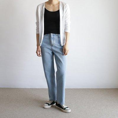 春款 新裝正韓基本款復古牛仔褲 (中高腰)【A0309】