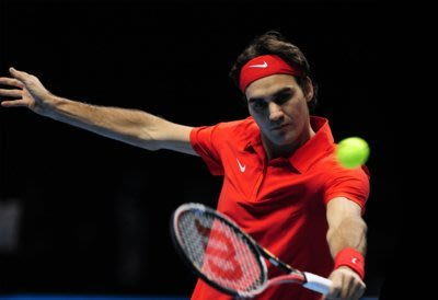 現代裝飾畫體育網球明星羅傑費德勒Federer會所框