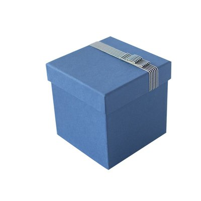 天地蓋簡約禮物盒禮品生日包裝盒黑色藍色綠橙色飾品盒