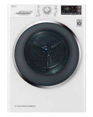 LG 樂金 《WR-90TW》 9公斤 WiFi 低溫除濕式乾衣 免曬衣 變頻乾衣機/冰磁白