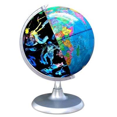 地球儀20cm星座地球儀中號高清小號中學生用初中生3D立體懸浮兒童臺燈擺件大號AR發光夜光創意客廳裝飾便攜星空大號哆啦A珍
