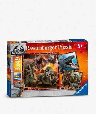 (預購)侏羅紀世界 Jurassic World 墮落王國拼圖 Ravensburger Fallen Kingdom jigsaw puzzle