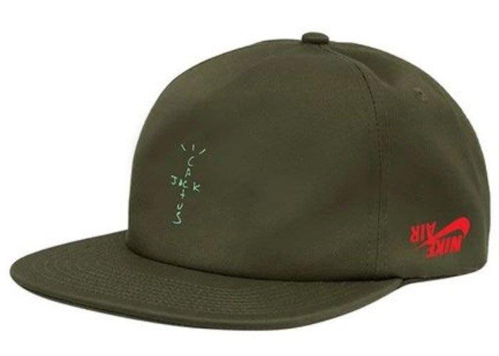 【美國鞋校】預購 Travis Scott Jordan Cactus Jack Highest Hat 五分帽 綠色