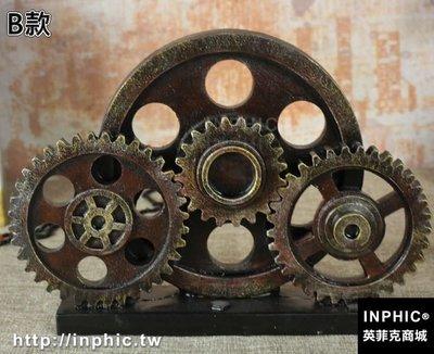 INPHIC-復古工業工具模型擺件模擬齒輪扳手道具家居酒吧咖啡廳裝飾-B款_S2787C