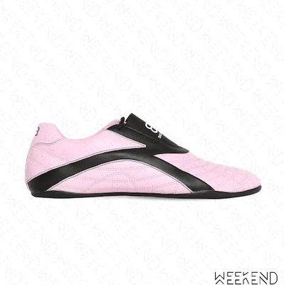 【WEEKEND】 BALENCIAGA Zen 巴黎世家 球鞋 潮鞋 休閒鞋 粉+黑色