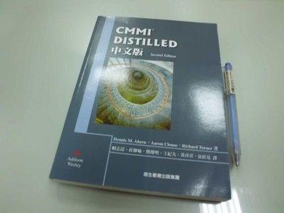 6980銤:A14-5☆2007年出版『CMMI DISTILLED 中文版』Dennis M. 等著《培生教育出版》