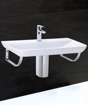 《振勝網》Caesar 凱撒衛浴專賣店 LF5376C 90cm 傑斯曼面盆組(銀髮族衛浴) 含不鏽鋼腳架 / 不含龍頭
