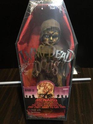 活死人娃娃 Living Dead Dolls Series 22 - Menard RARE