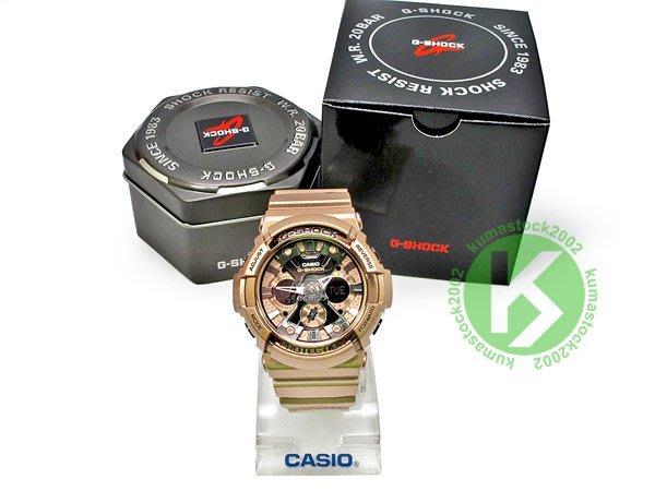 2015 最新入荷 超大錶徑 CASIO G-SHOCK GA-200GD-9BDR 玫瑰金 古銅金 炫金系列