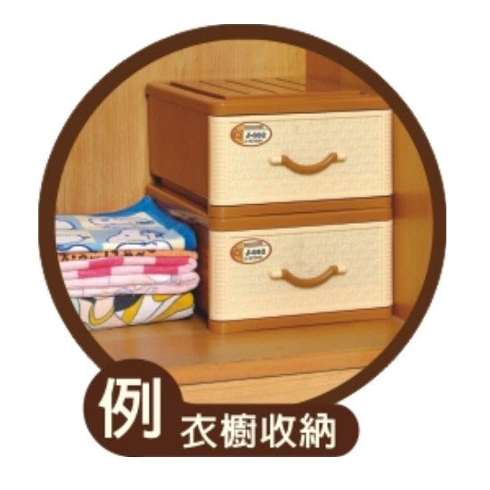 Sato/抽屜整理箱/單層櫃/藤式日本單抽整理箱/塑膠箱/置物箱/整理箱/26L/聯府/直購價