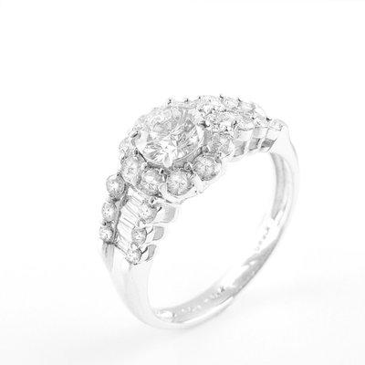 【JHT金宏總珠寶/GIA鑽石專賣】天然鑽石戒指/材質:750(JB47-B09)