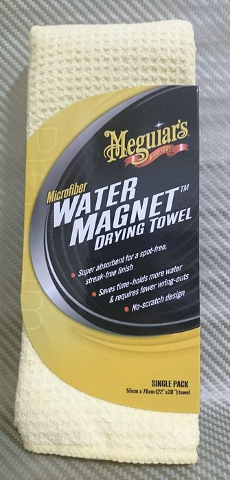 (C+西加小站)Meguiar's 美光 Water Magnet 吸水磁鐵巾 X2000 平行輸入