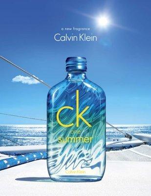 美國百分百【Calvin Klein】香水 CK On Summer 2015款 香精 CK 中性 100ML J741