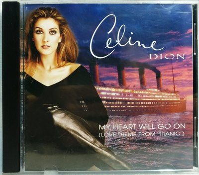 Celine Dion My Heart Will Go On - 歌詞 加拿大版